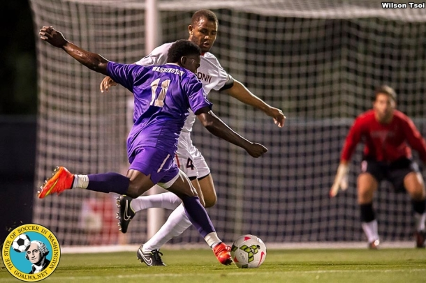 University of Washington men's soccer team defeats Connecticut 3-1 at Husky Soccer Stadium