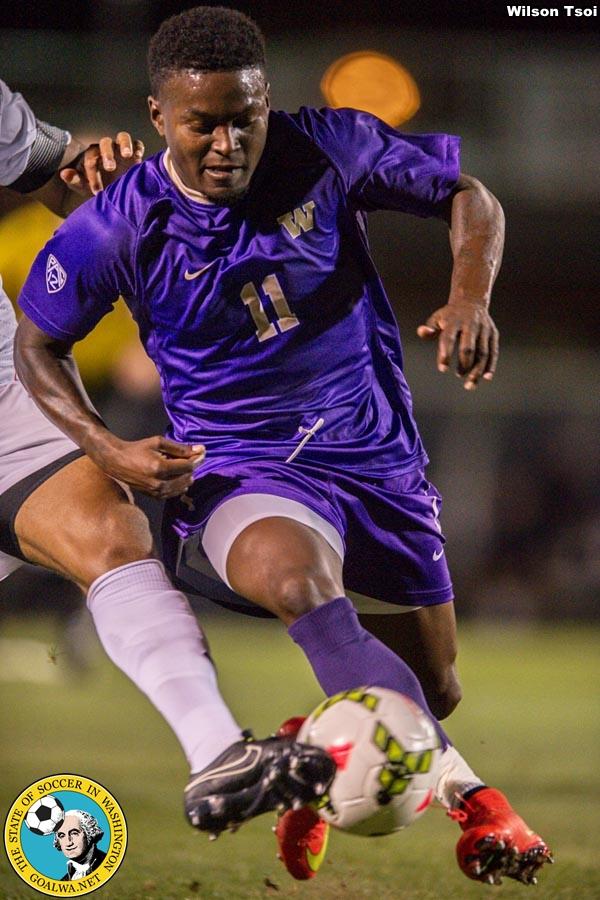 University of Washington men's soccer team defeats Connecticut 3-1 at Husky Soccer Stadium