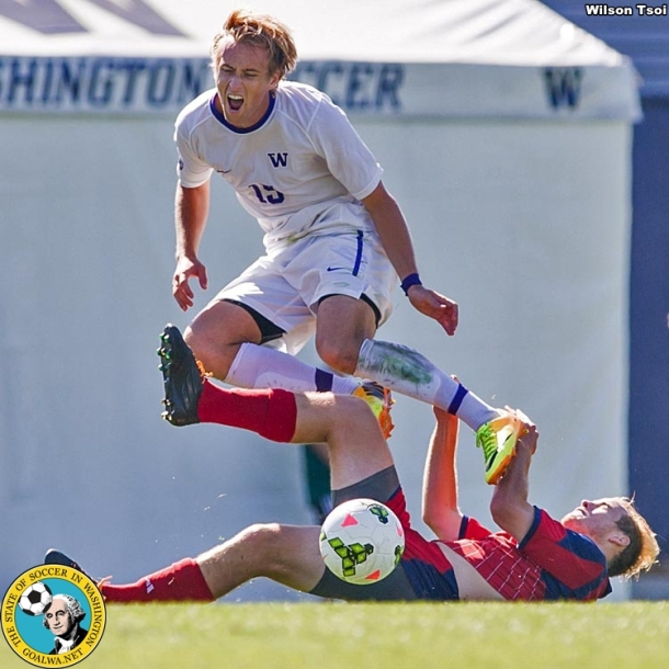 University of Washington men's soccer team hosts Saint Mary at H