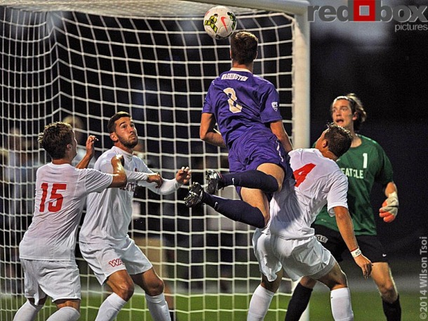 Ranked #4 nationally, the University of Washington men's soccer team opens its 2014 home opener against #22 Seattle University