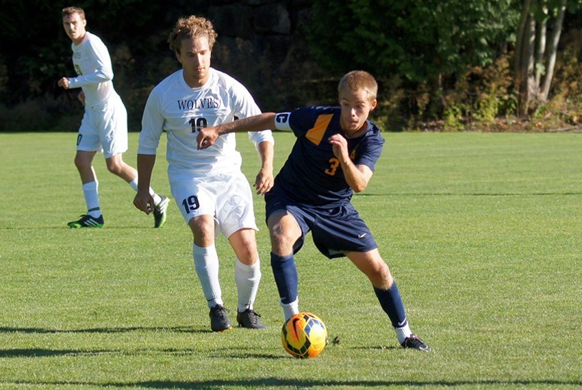 Northwest's Taylor Young (#3) scored the winner on Tuesday for the Eagles in overtime. (School file photo)