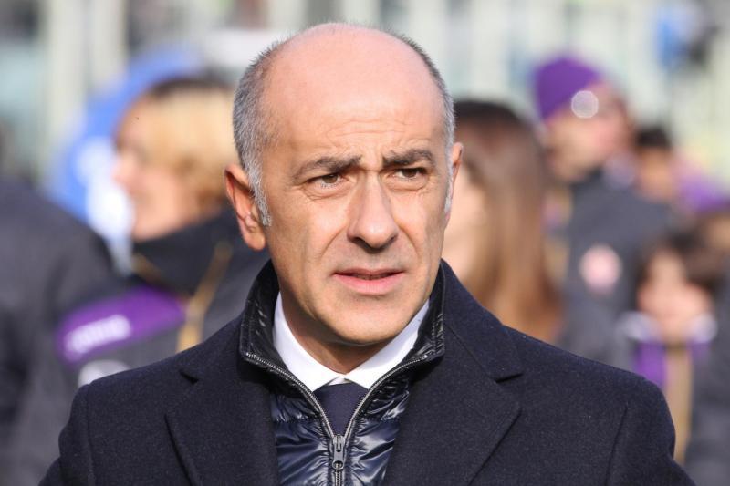 Fiorentina Technical Director Professor Vincenzo Vergine.