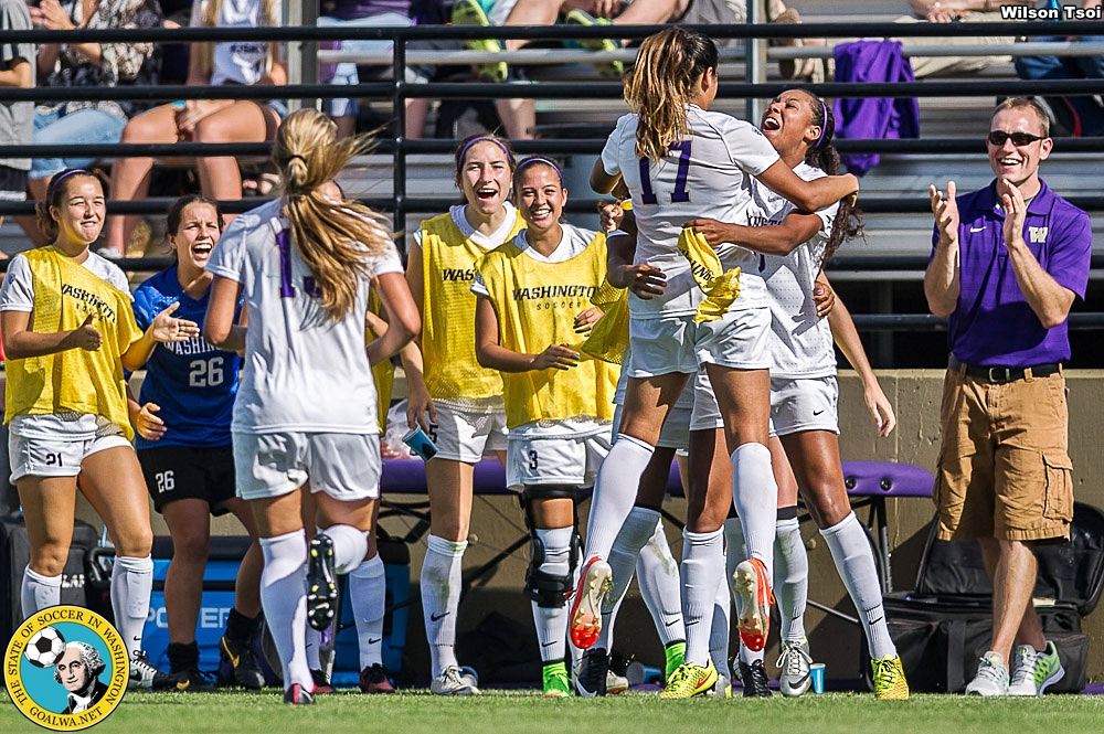 Women's Soccer, Washington at Portland