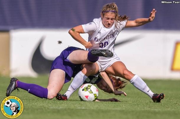 Women's Soccer, Washington at Portland