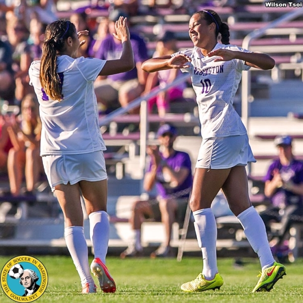 University of Washington women's soccer team hosts Dartmouth at