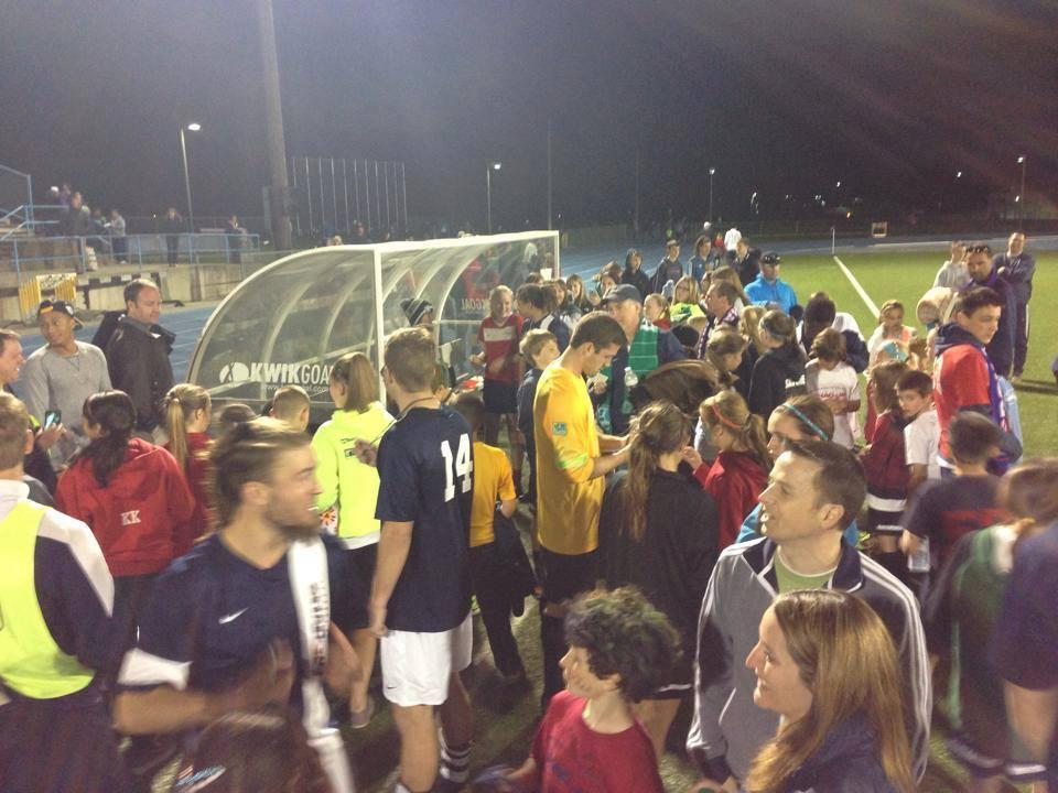 Big crowds in Spokane: The Shadow averaged nearly 600 fans per match.