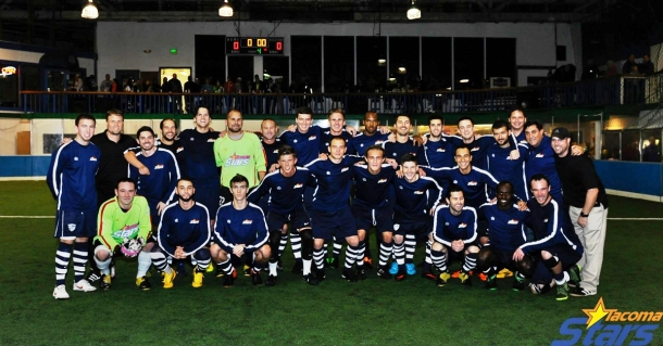 The winning Tacoma Stars.