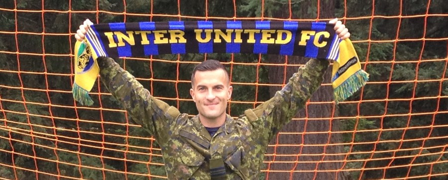 Canadian RCAF Major crosses border to fly with Seattle's Inter United FC