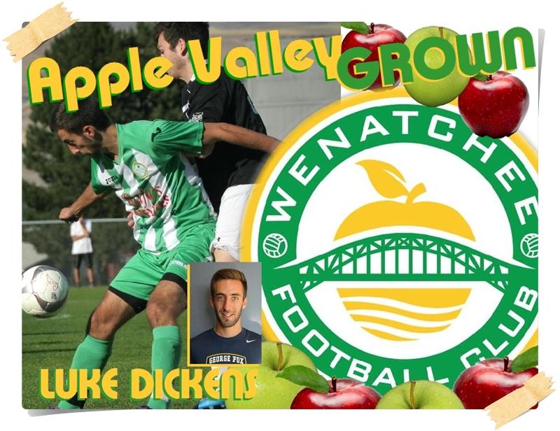 Apple Valley Grown: Luke Dickens has options thanks to WenatcheeFC