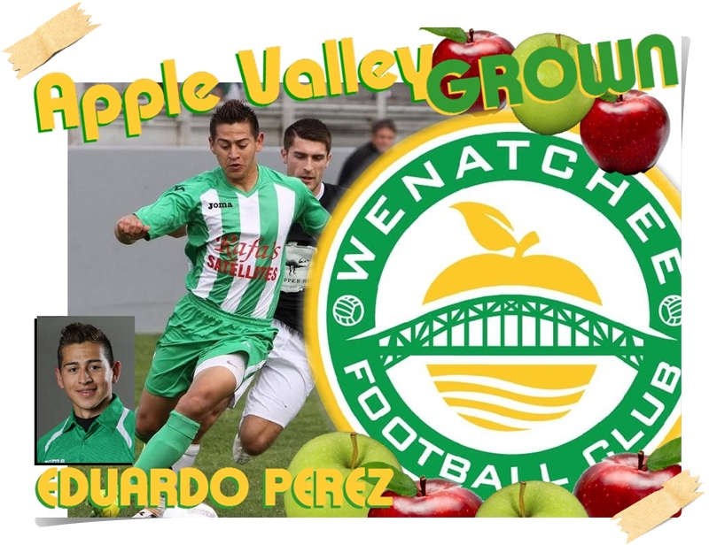 Apple Valley Grown: Eduardo Perez goes from Quincy to wearing Wenatchee FC Green