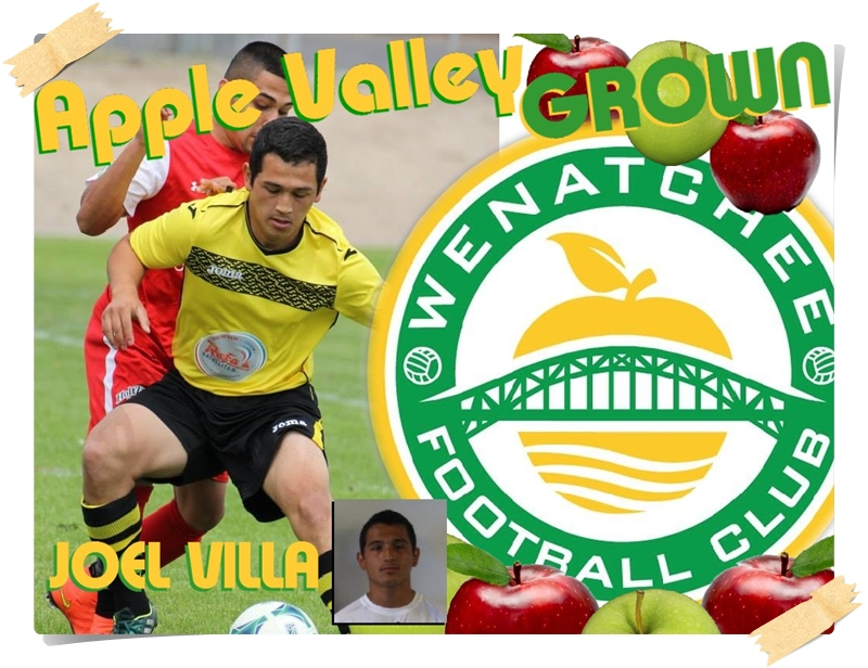 Apple Valley Grown: Late-starter Joel Villa catches up with Wenatchee FC and Wenatchee ValleyCC