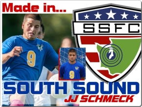 Made in South Sound: JJ Schmeck hits new highs at Edmonds CC