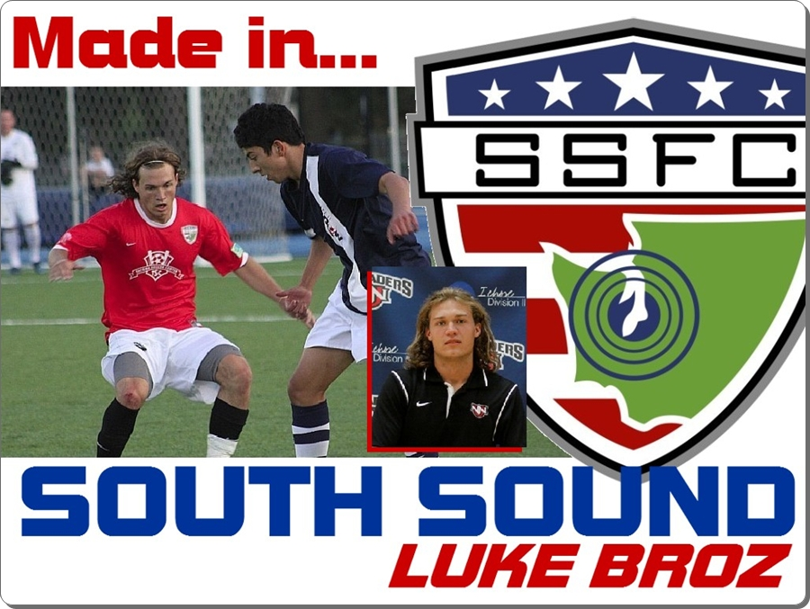 Made in South Sound: Luke Broz gets experience on pitch withShock