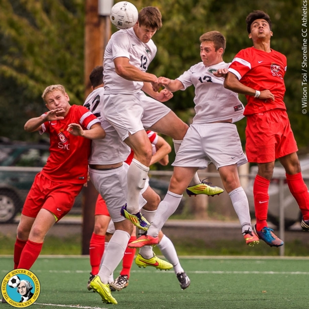 Shoreline CC men's soccer team hosts Skagit Valley College