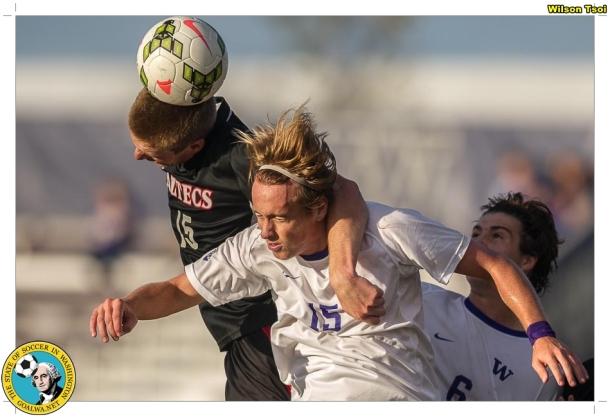 Men's soccer SDSU at Washington