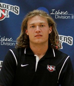 Broz is playing with Northwest Nazarene who are having a great season in the GNAC. (school photo)