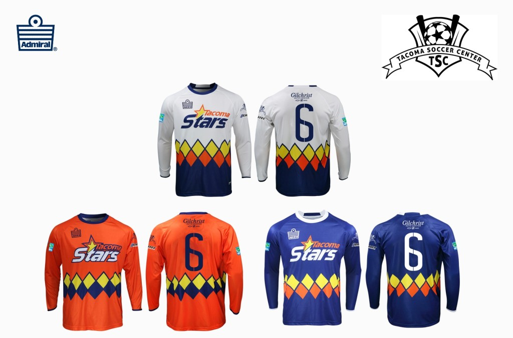 The Stars of the WISL will wear (and sell to fans) these kits which honoring the early days of the MISL Stars.