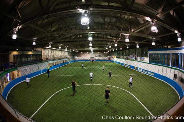Tacoma Soccer Center panorama by Chris Coulter.