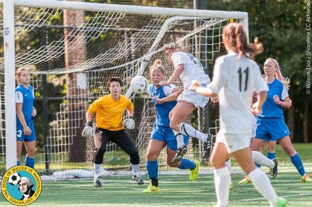 Shoreline CC women's soccer team hosts Edmonds CC at Twin Ponds Field