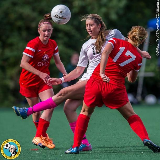 Shoreline CC women's soccer team hosts Skagit Valley College