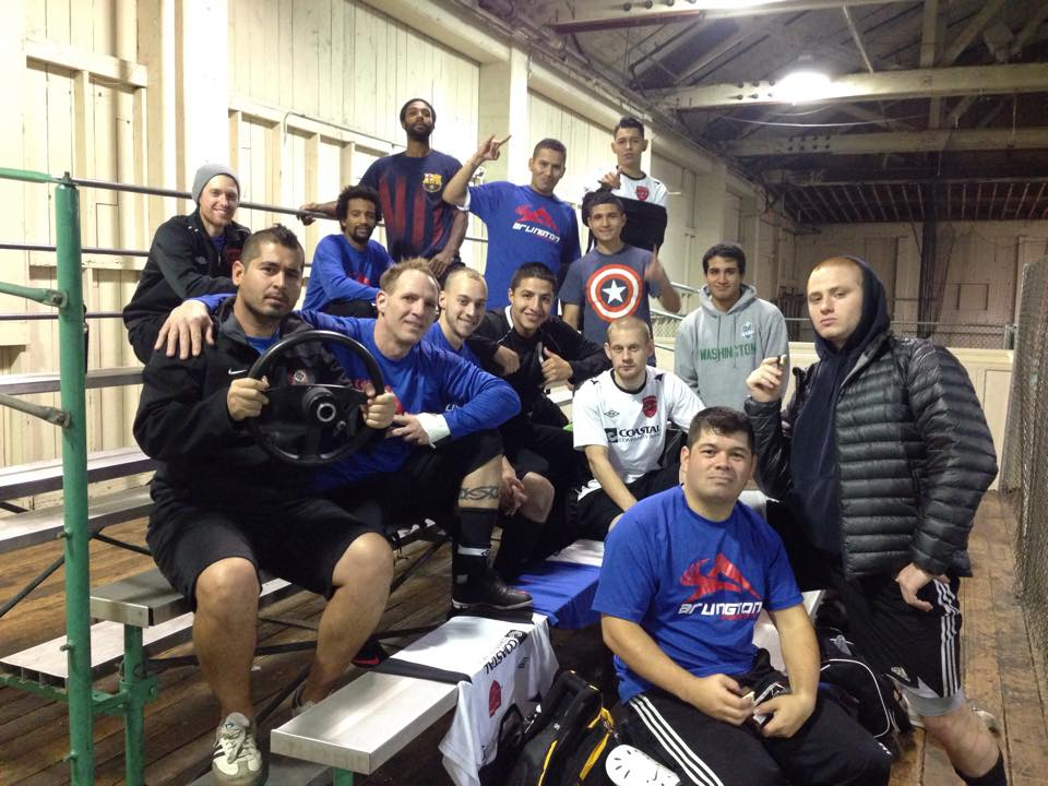Arlington at the recent Indoor Soccer Invite in Tacoma.