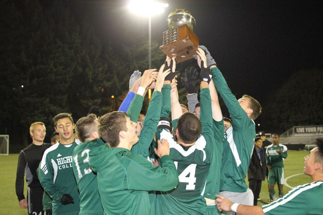 NWAC Champions: Highline Men, EverettWomen