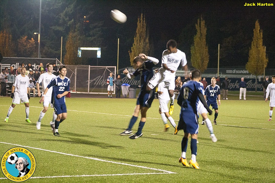 Highline Men conquer Whatcom; semifinal match with Skagit Valley next