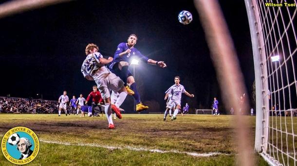 Men's Soccer Furman @ Washington