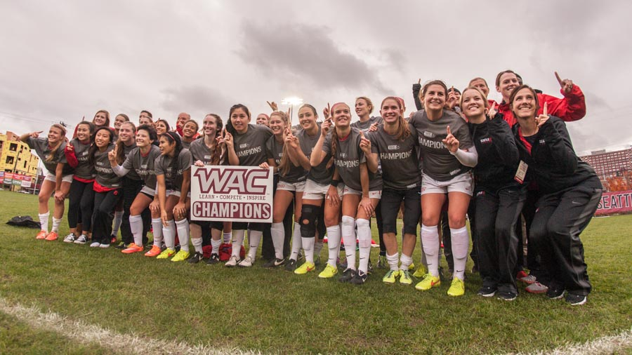 Picture Perfect: Redhawks roll to second straight WAC title