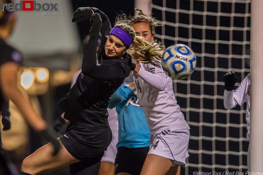 Women's soccer NCAA First Round Rider at Washington