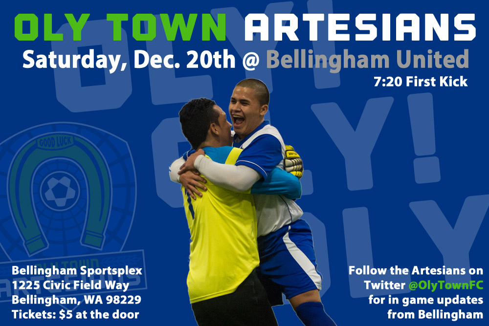 Oly Town travels to Bellingham for second-place WISL showdown Saturday