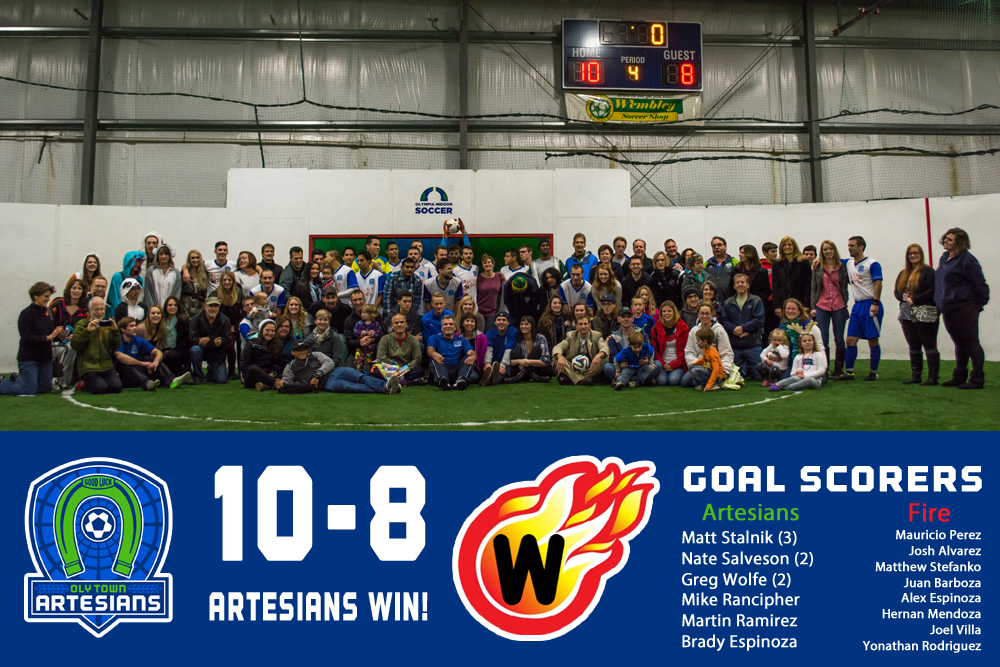 Oly Town Artesians score first franchise win