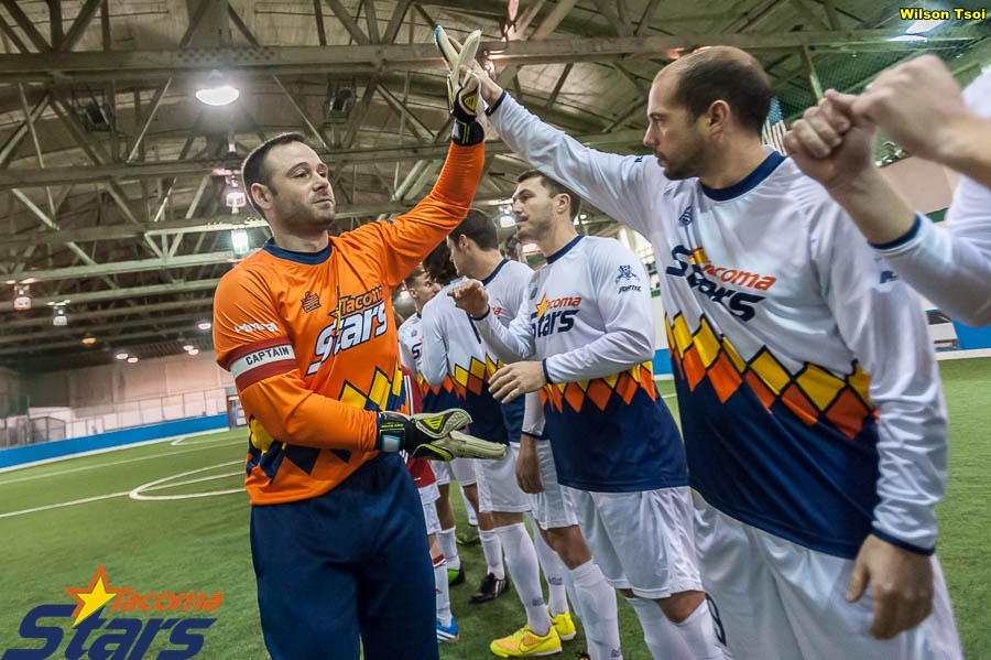 The Tacoma Stars Whites, produced by Admiral, are an homage to the MISL Stars kits of the 1980's. (Wilson Tsoi)