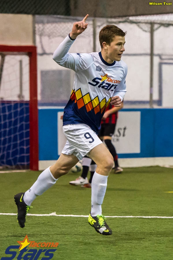 Derek Johnson scored four more goals bringin his league total to 11 after four matches.
