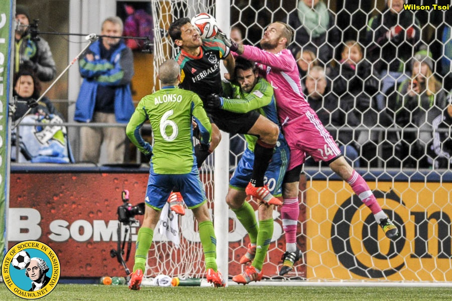 LA Galaxy once again block Sounders