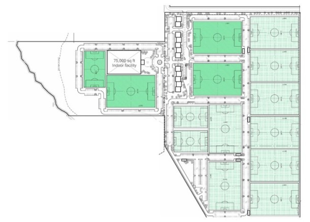 www.sozosports.net features this design for a Yakima soccer complex.