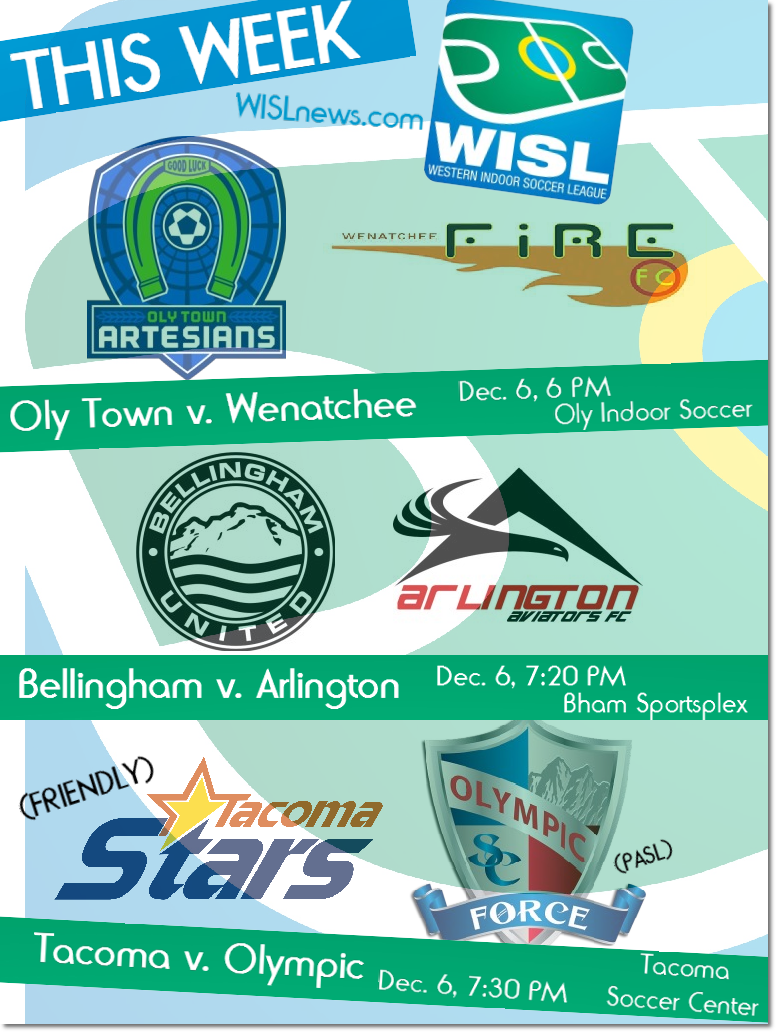 WISL Preview: Every club in action thisweek