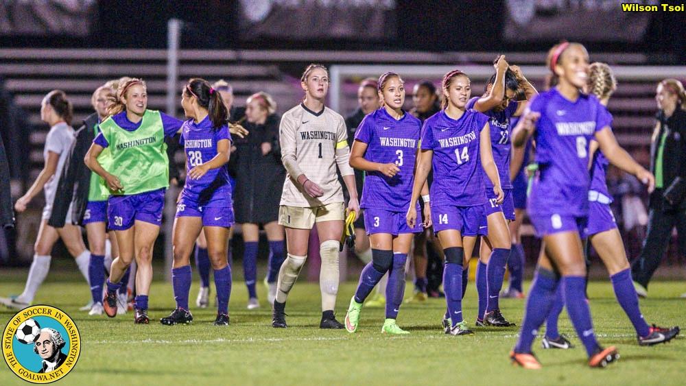 Women's Soccer Oregon State @ Washington