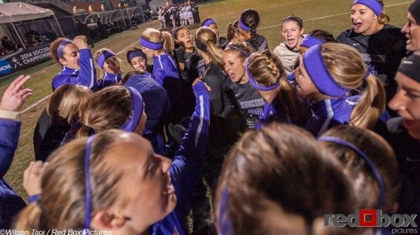 Women's soccer NCAA First Round Rider at Washington