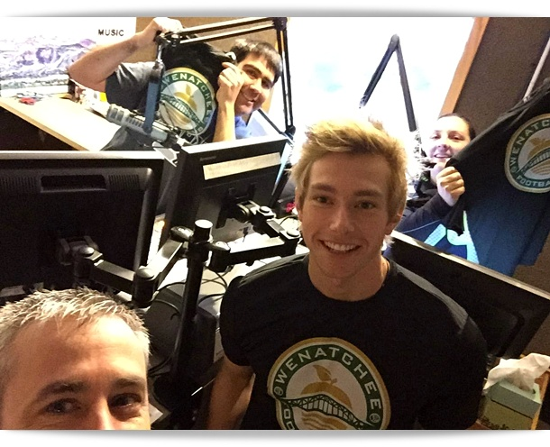 Wenatchee FC takes to radio to announce big news