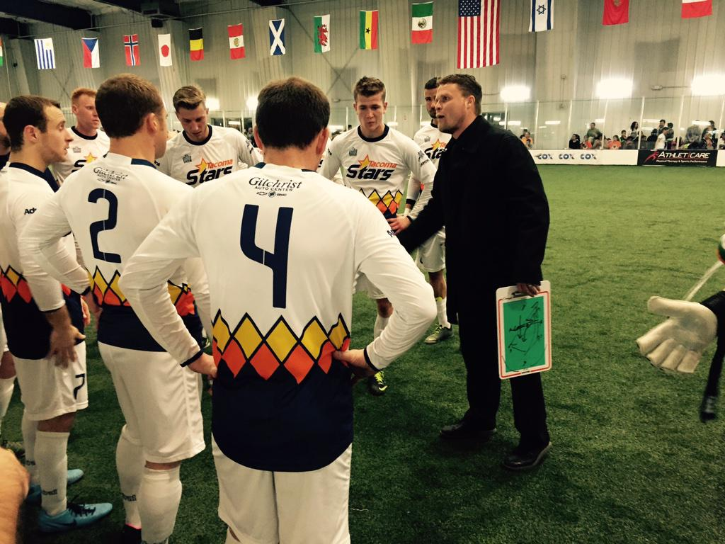 Stars drop MASL match in Vegas, play two tonight