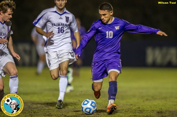 Men's Soccer Furman @ Washington
