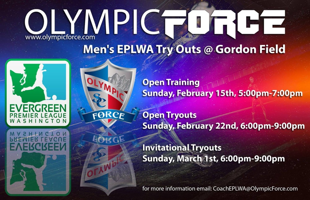 Olympic Force announce EPLWA tryout schedule, add assistant coach