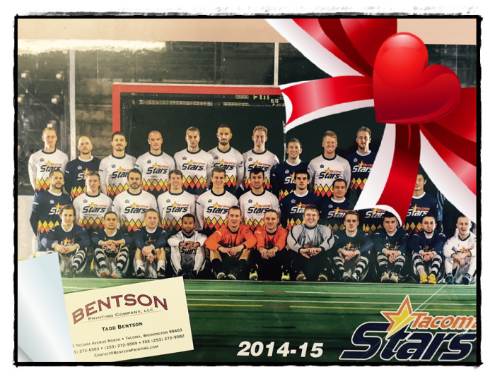 The first 300 fans through the door on Saturday night will get a Stars team poster! (without the ribbon.)