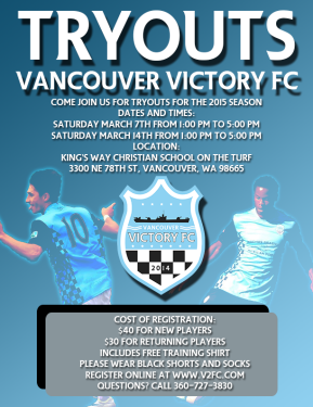 Vancouver Victory announce open tryout details ahead of EPLWA season