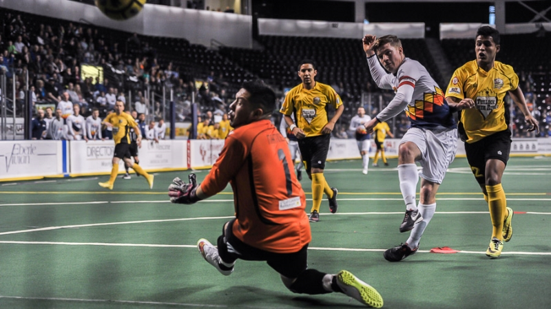 Mark Lee scores five as Stars rout Express for first MASL win,12-2
