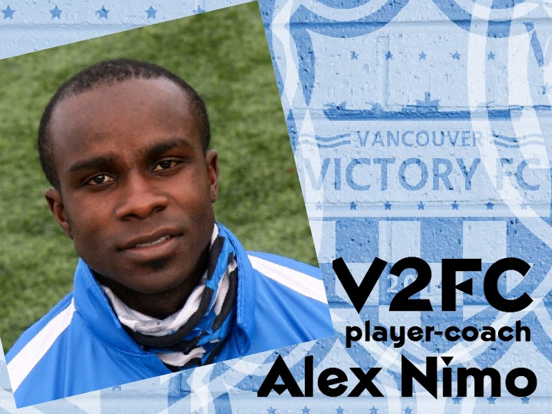 Former Timber Alex Nimo to eye talent for V2FC asplayer-coach