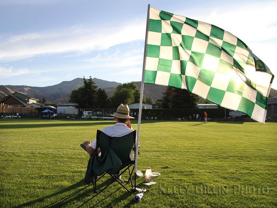 Wenatchee Valley CC has a beautiful grass pitch, but limited seating. (WFC)