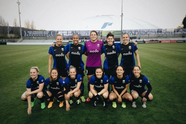 Reign starting 11 at Merlo. (Club photo)