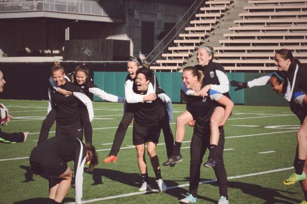 Training can be fun! (Reign Facebook)